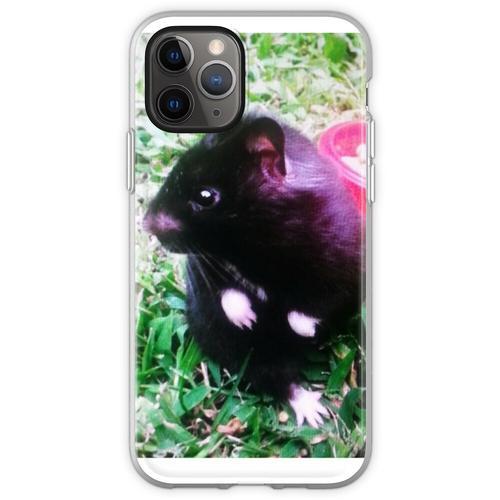 Chomik der Schwarzbär Hamster Flexible Hülle für iPhone 11 Pro