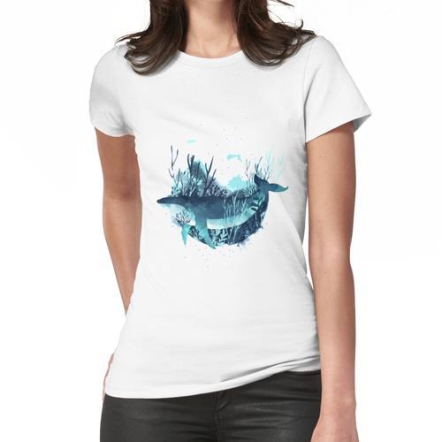 Kostenloser Wal Frauen T-Shirt