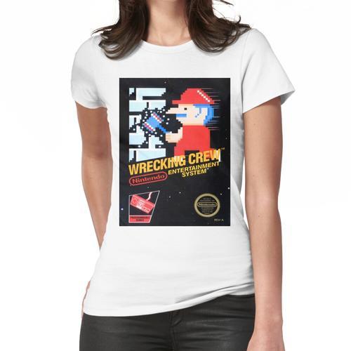 Wrecking Crew Nes Art Frauen T-Shirt