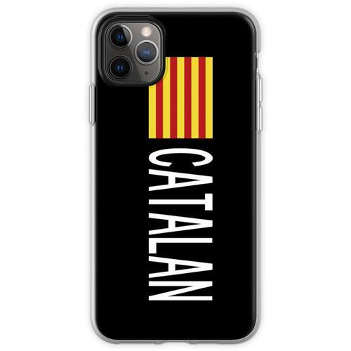 Catalunya: Katalanische Flagge und Katalanisch Flexible Hülle für iPhone 11 Pro Max