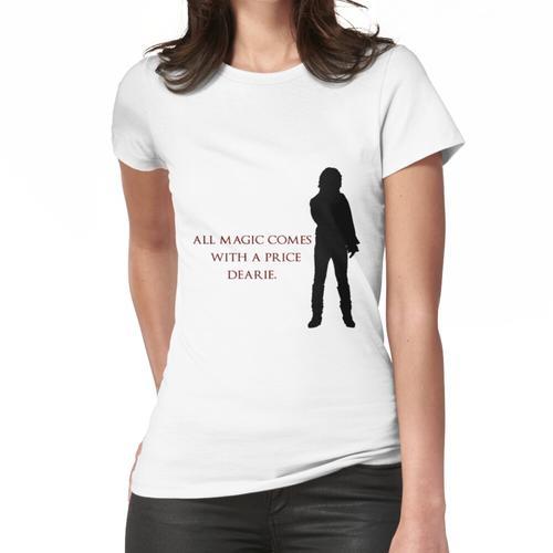 Zerknittertes Zitat Frauen T-Shirt