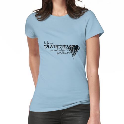 Körpertemperatur Frauen T-Shirt