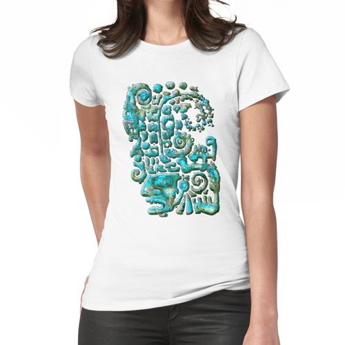 Olmec Head Montageanleitung Frauen T-Shirt