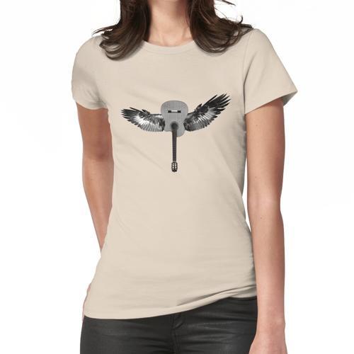 Fliegende Gitarre Frauen T-Shirt