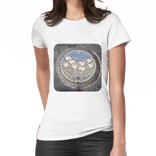 Kanaldeckel Frauen T-Shirt