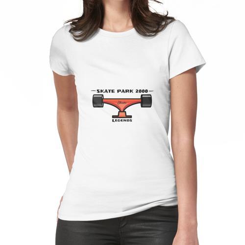 Skate Park 2000 Legends - Love Skateboards - Skateboard Park - Skateboard Pro - Skate Frauen T-Shirt