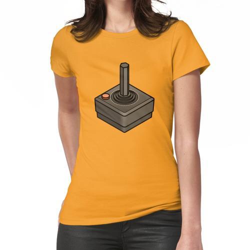 Retro Joystick Frauen T-Shirt