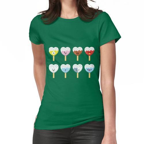 BT Eiscreme-Herz Frauen T-Shirt