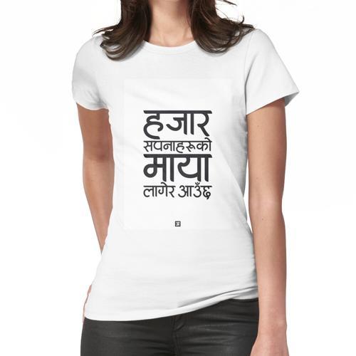 Devanagari - Hajaar Sapana Frauen T-Shirt