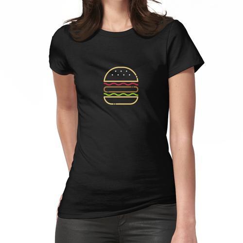 Minimalistischer Burger (kalorienarm) Frauen T-Shirt