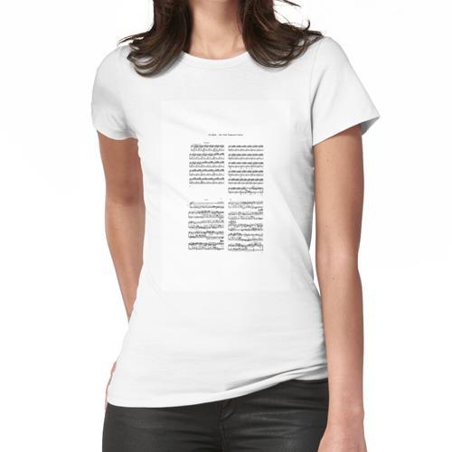 wohltemperiertes Klavier Frauen T-Shirt