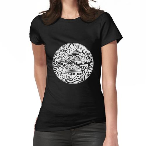 Osaka Castle Abflussdeckel Weiß - Japan Frauen T-Shirt