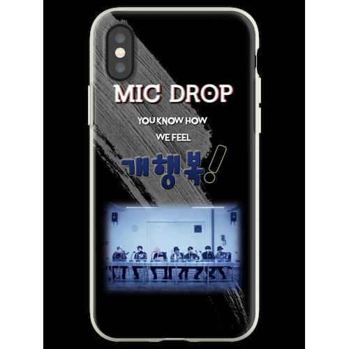 BTS Mic Drop iPhone Hülle, Notebook, Tablets, Karten Flexible Hülle für iPhone XS