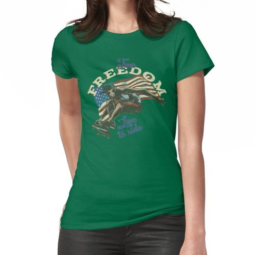 Longboard Downhill Frauen T-Shirt