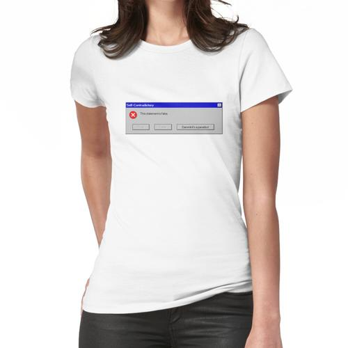 Windows-Paradoxon Frauen T-Shirt