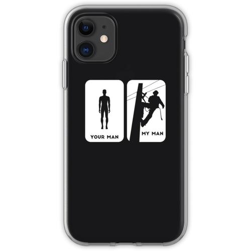 Linienrichter | Dein Mann Mein Mann Flexible Hülle für iPhone 11