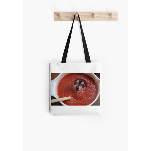 Hund in Tomatensauce Tasche