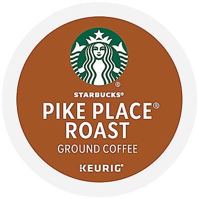 24 Ct Starbucks Pike Place Roast Coffee K-Cup® Pods. Coffee