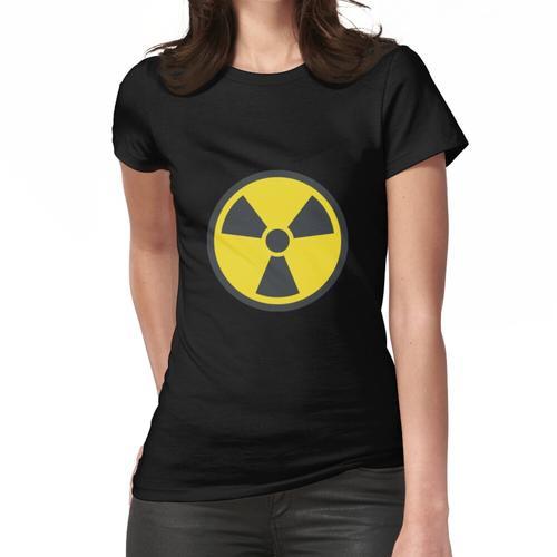 Strahlung / radioaktives Symbol Frauen T-Shirt