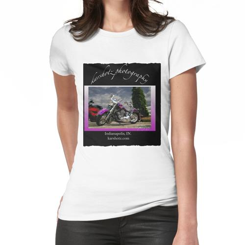 Harley Davidson Lila Fahrrad Frauen T-Shirt