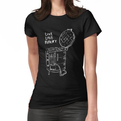 Keramikofen in Englisch Frauen T-Shirt