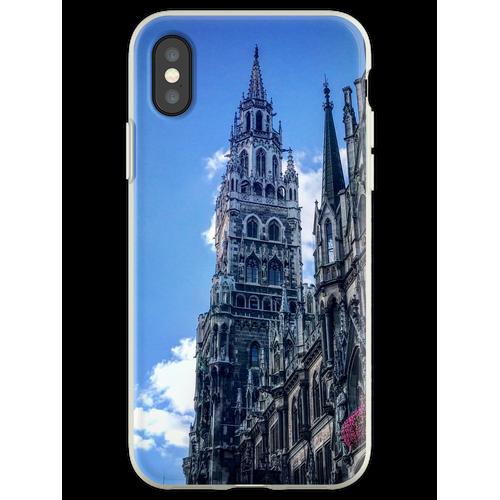 Marienplatz München Flexible Hülle für iPhone XS