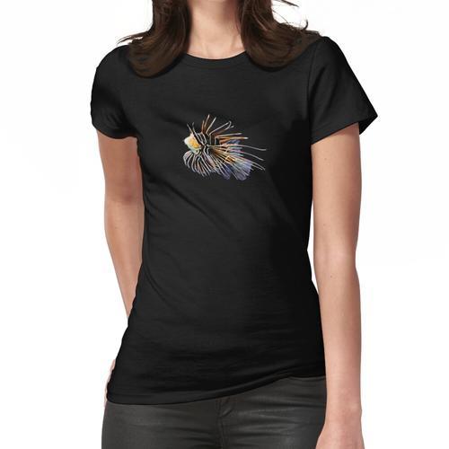 Lion Fish Saltwater-Riffaquariumaquarium Frauen T-Shirt