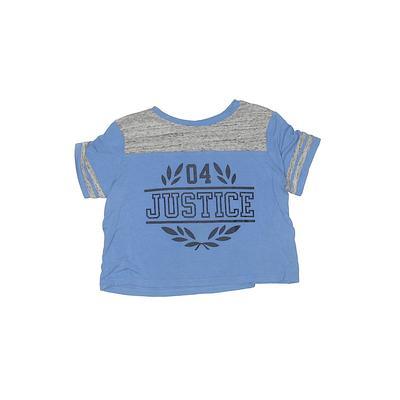 Justice Active T-Shirt: Blue Pri...