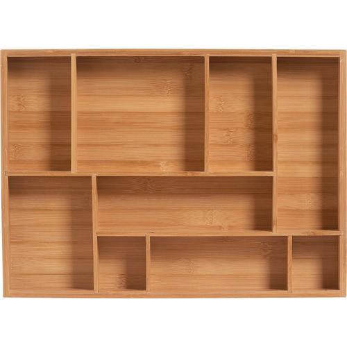 Zeller Present Schubladeneinsatz Bamboo beige Küchen-Ordnungshelfer Küchenhelfer Küche