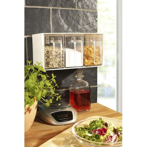 Ruco Aufbewahrungssystem, (Set, 2 tlg.) farblos Küchen-Ordnungshelfer Küchenhelfer Küche Aufbewahrungssystem