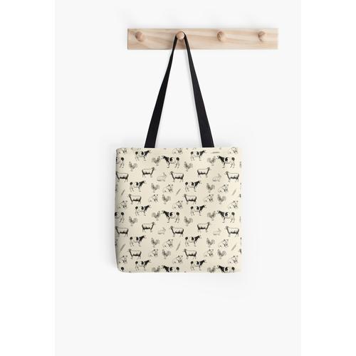 Nutztiere Tasche