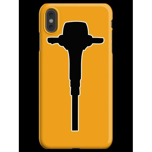 Bohrhammer Bohrhammer iPhone XS Max Handyhülle