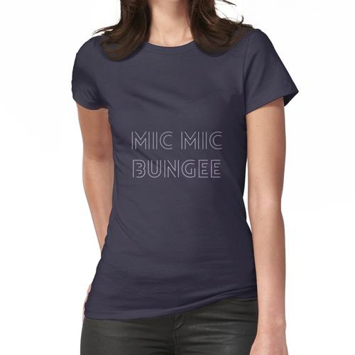 Mikrofon Mikrofon Bungee Frauen T-Shirt