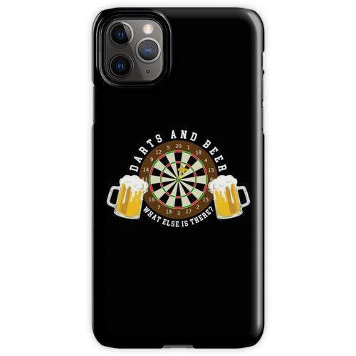 Darts and Beer - Dartscheibe Turnier Sport Spass iPhone 11 Pro Max Handyhülle