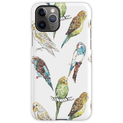 Wellensittich-Wellensittich Wellensittiche iPhone 11 Pro Handyhülle