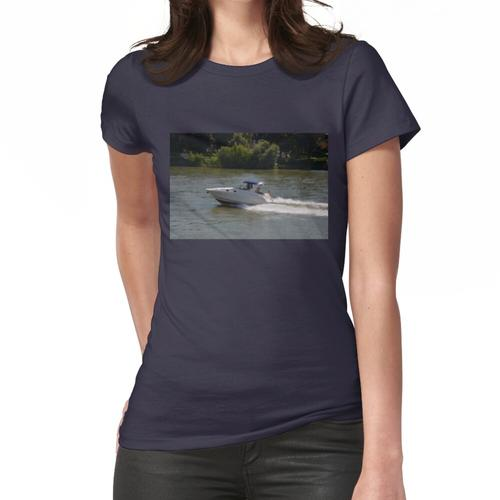 Leistungsstarkes Motorboot Frauen T-Shirt