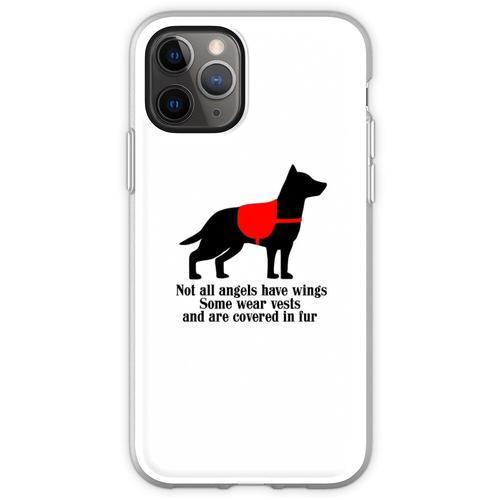 Service-Hundeengel Flexible Hülle für iPhone 11 Pro