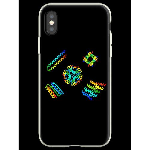 Eiweiß Flexible Hülle für iPhone XS