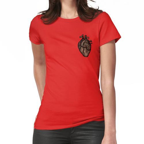 Holzherz Frauen T-Shirt