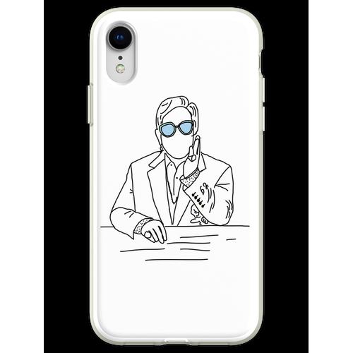 Elton John farbige Brille Flexible Hülle für iPhone XR
