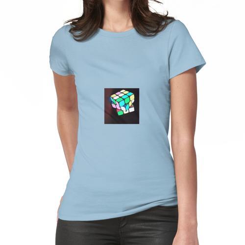 Designquadrat, quadratische Lösungen, quadratische Kosten, quadratischer Punkt, Frauen T-Shirt
