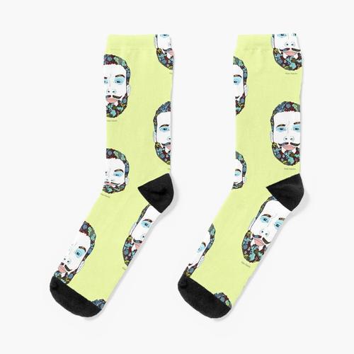Ein Mann der Natur Socken