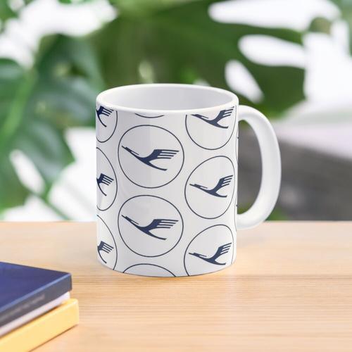 Modern Lufthansa Mug