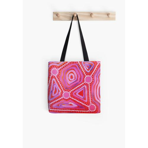 Connection All Over Print Tote Bag
