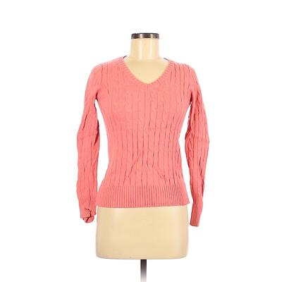 Jcpenney Pullover Sweater: Pink Tops - Size Medium