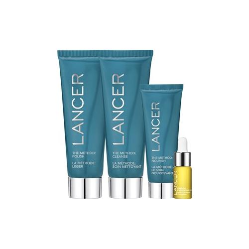 Lancer Pflege The Method: Face Normal-Combination Set The Method: Polish 60 ml + The Method: Cleanse 60 ml + The Method: Nourish 22 ml + Omega Hydrating Oil 4,4 ml + Beauty Bag 1 Stk.
