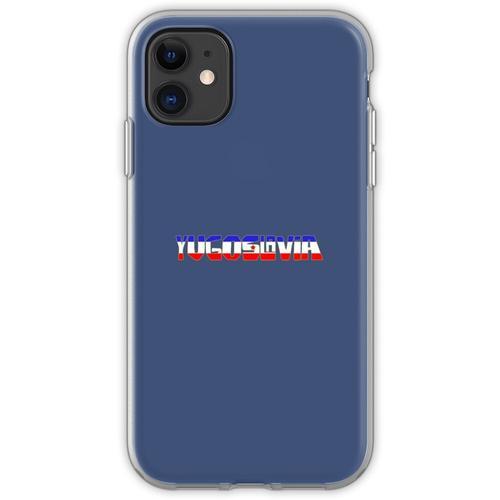 Ex Jugoslawien - Jugoslawien Flexible Hülle für iPhone 11