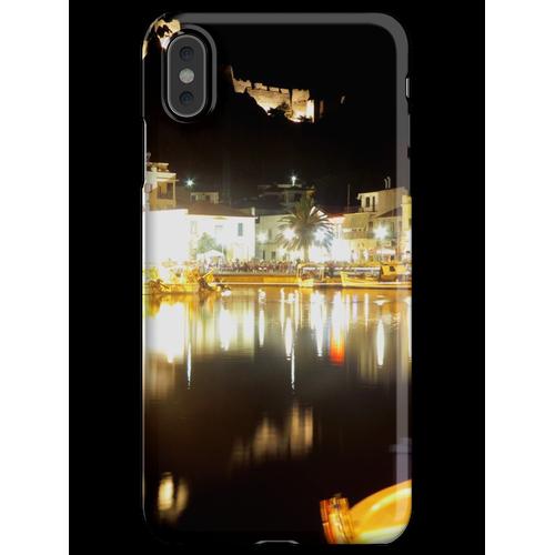 Limnos in der Nacht iPhone XS Max Handyhülle