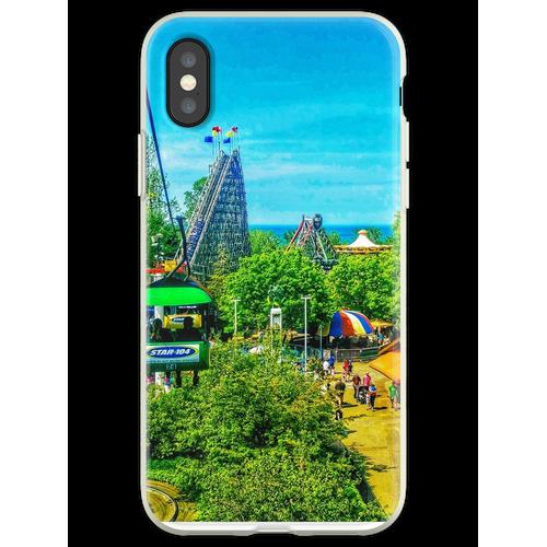 Freizeitpark Flexible Hülle für iPhone XS