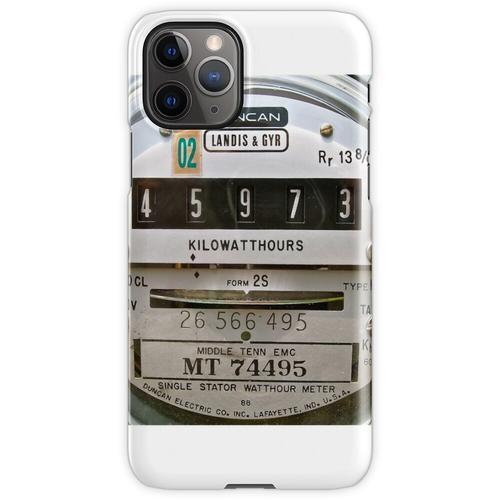 Stromzähler iPhone 11 Pro Handyhülle